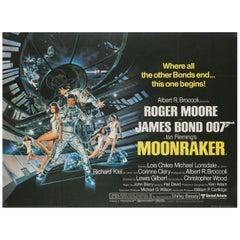 """Moonraker"" UK Film Poster, 1979"