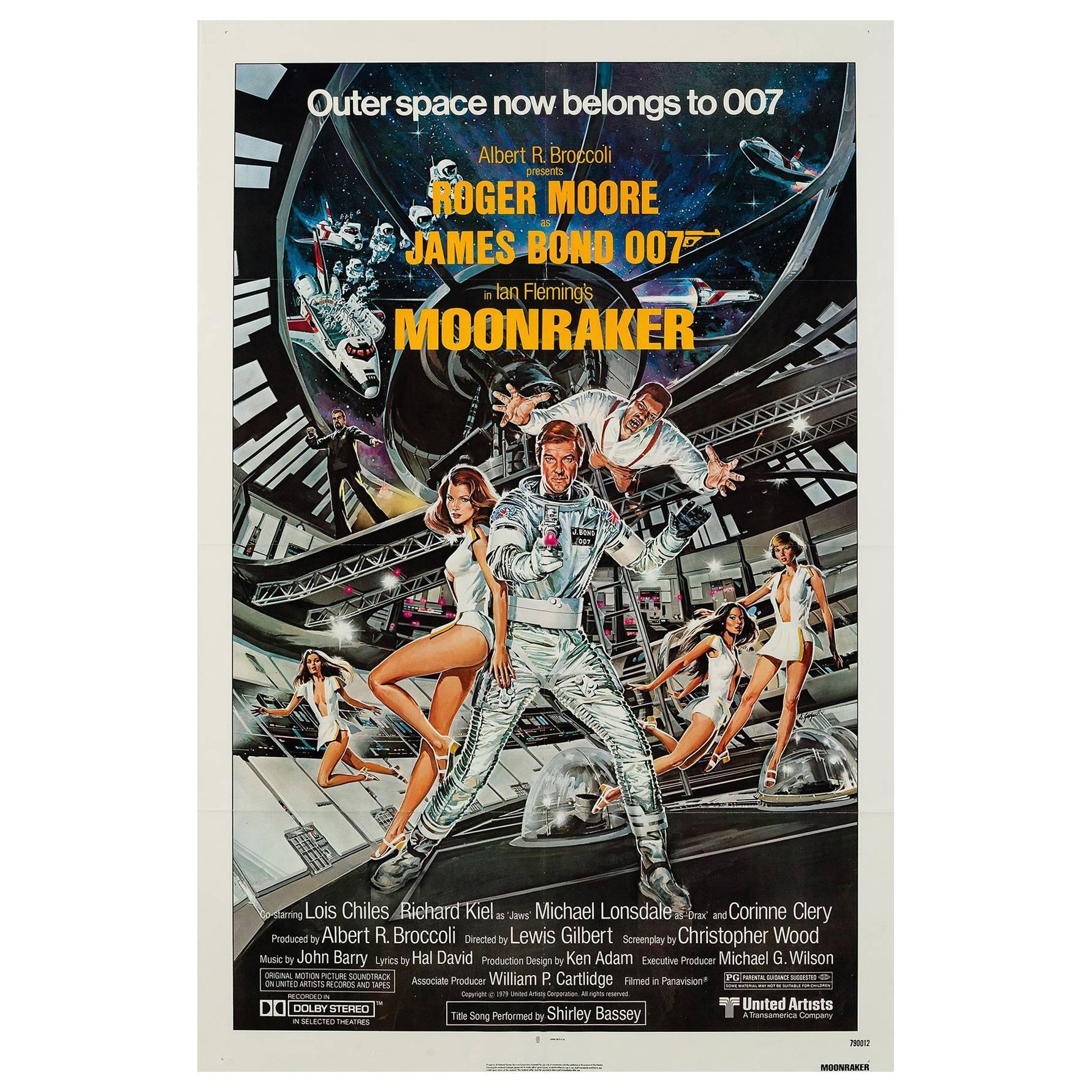 """Moonraker"", US Film Poster, 1979"