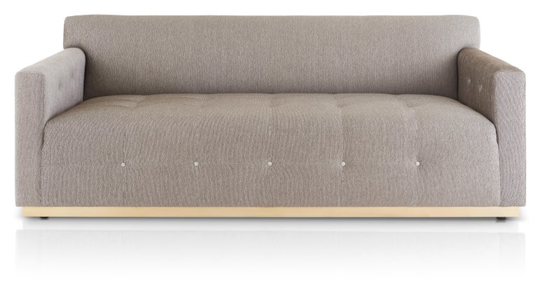 Mondaufgang Sofa Klassiker Der Moderne Geknopfte Sofa Auf Gold