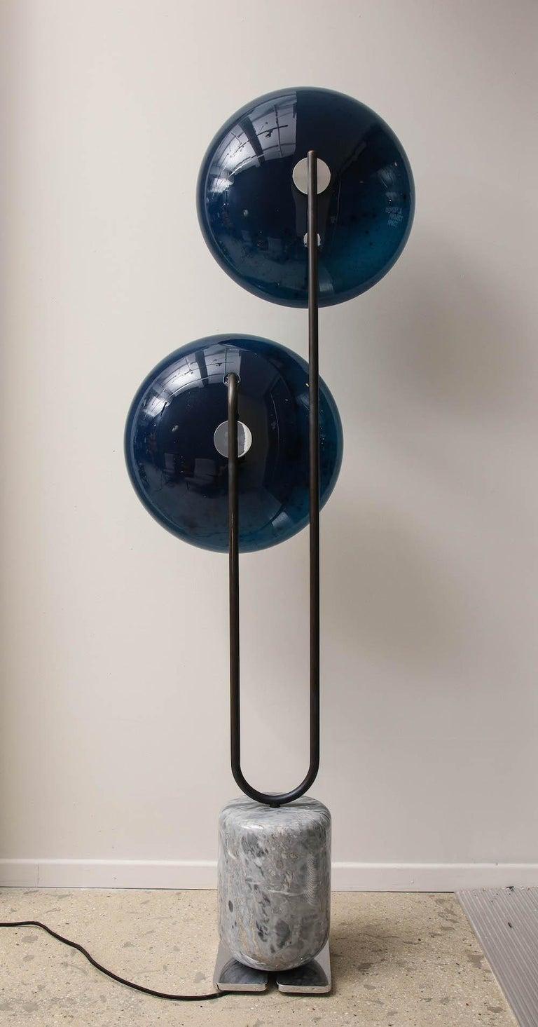 MoonWalk Floor Lamp by Lorin Silverman For Sale 4