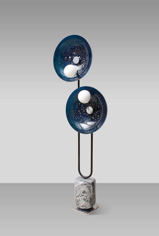 Contemporary MoonWalk Floor Lamp by Lorin Silverman For Sale