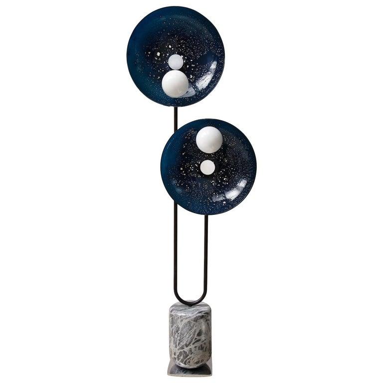MoonWalk Floor Lamp by Lorin Silverman For Sale