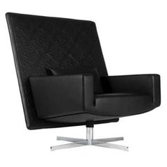 Moooi Jackson Leather Swivel Armchair Designed By Marcel Wanders