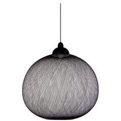 Moooi Large Non Random Lamp in Black Aluminum Fiberglass by Bertjan Pot