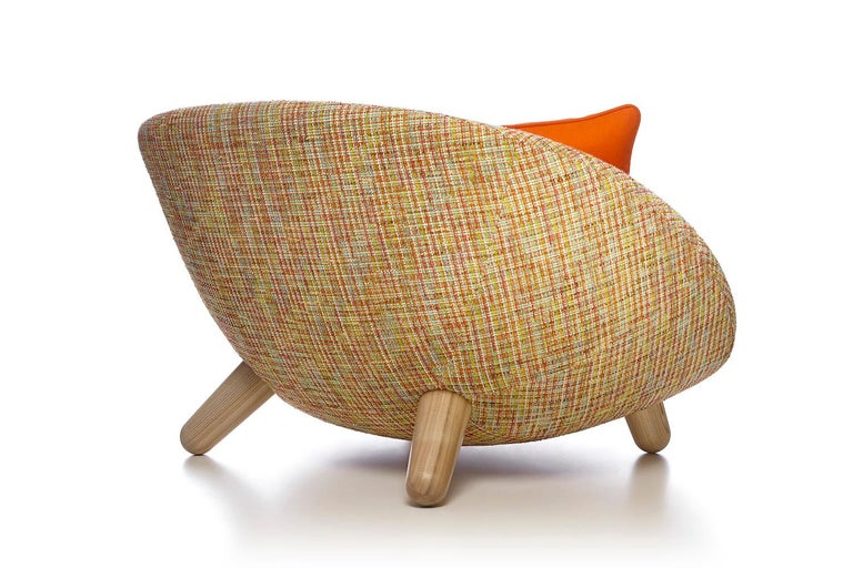 Moooi Love Sofa with Low Back in Fabric or Leather by Marcel Wanders For Sale 4