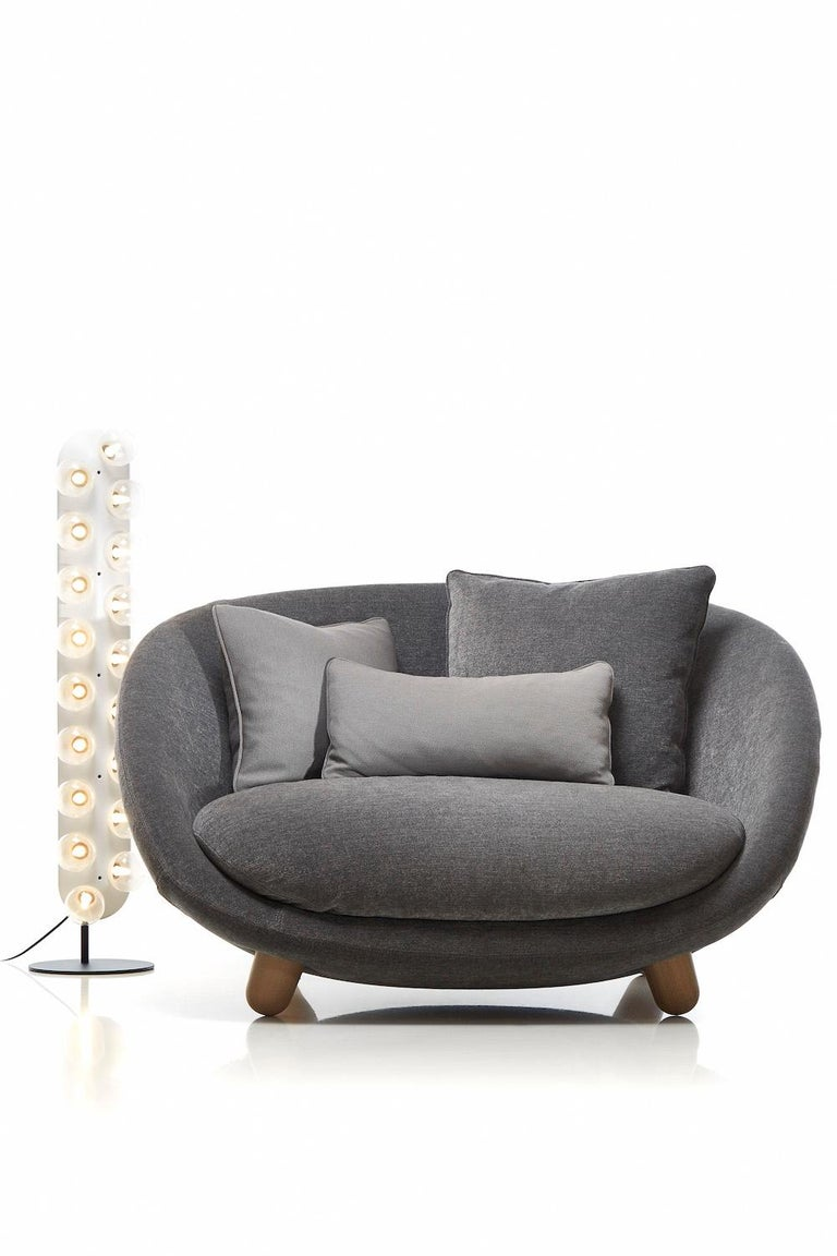 Moooi Love Sofa with Low Back in Fabric or Leather by Marcel Wanders For Sale 9