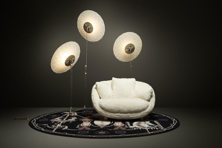 Moooi Love Sofa with Low Back in Fabric or Leather by Marcel Wanders For Sale 10