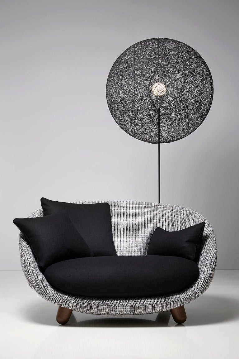 Moooi Love Sofa with Low Back in Fabric or Leather by Marcel Wanders For Sale 1