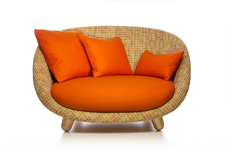 Moooi Love Sofa with Low Back in Fabric or Leather by Marcel Wanders For Sale 2
