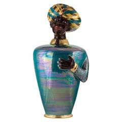 Italian Ceramic Vase, The Moor by Vito Nesta