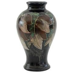 Moorcroft Interest Bill Bailey Art Pottery Leaf Vase Dated 1948