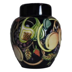 Moorcroft Pottery Queens Choice Large Ginger Jar 769/8, Emma Bossons, circa 2000
