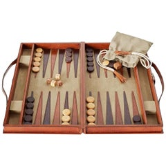 Ben Soleimani Moore Backgammon Set - Camel - Small
