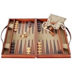 Ben Soleimani Moore Backgammon Set - Camel - Small