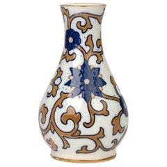 Moore Brothers Art Nouveau Art Pottery Floral Design Vase