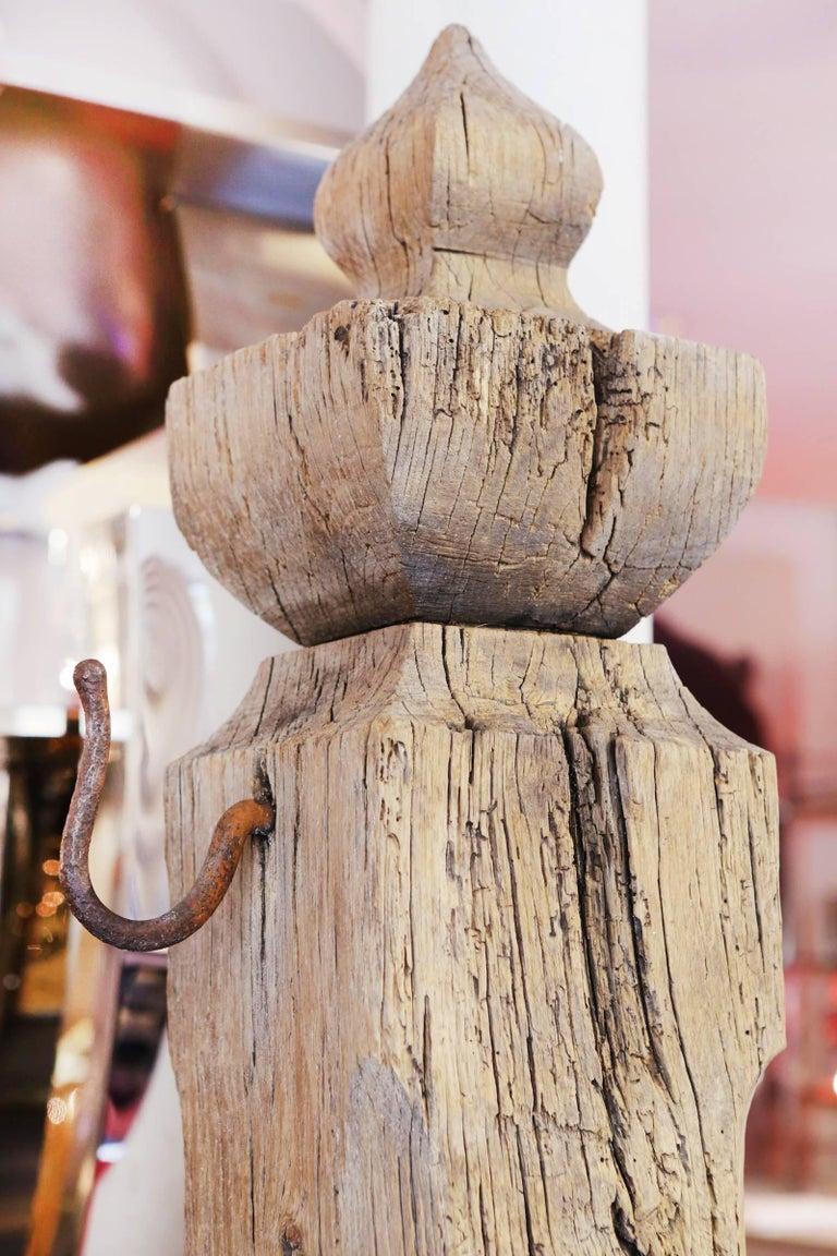 Mooring Venezia Columns Sculpture on Resin Lighted Base For Sale 5