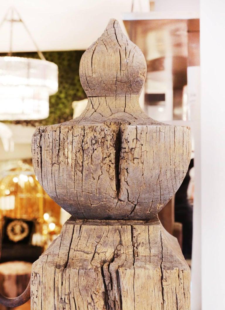 Mooring Venezia Columns Sculpture on Resin Lighted Base For Sale 6
