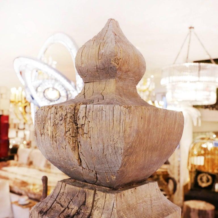Mooring Venezia Columns Sculpture on Resin Lighted Base For Sale 8