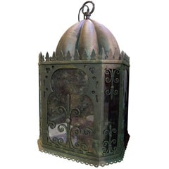 Moorish Hanging Iron Lamps