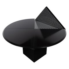 "Morandini Multifunction Round & Square ""Quadrondo"" Table for Rosenthal"