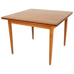 Moreddi Mid Century Teak Hidden Leaf Dining Table