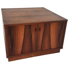 Moreddi Rosewood Square Cube Endtable