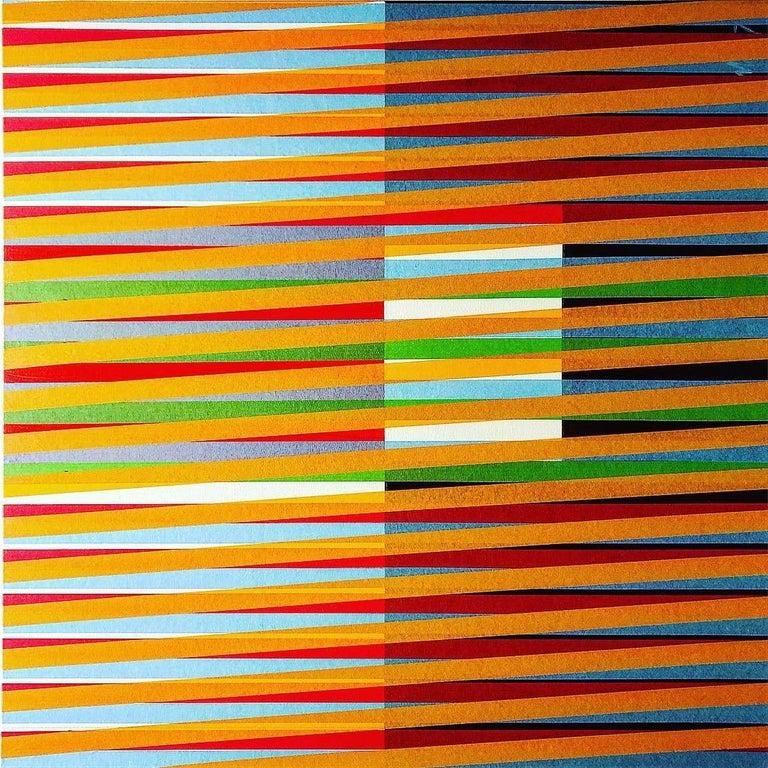 Morel Orta Abstract Painting - Libertango