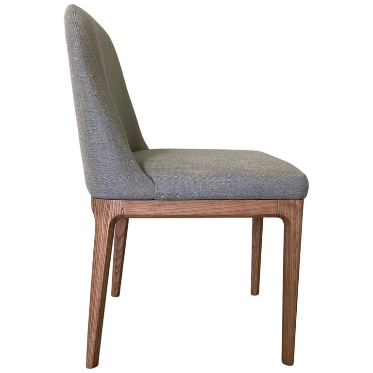 Morelato Contemporary Dining Chair in Ashwood For Sale