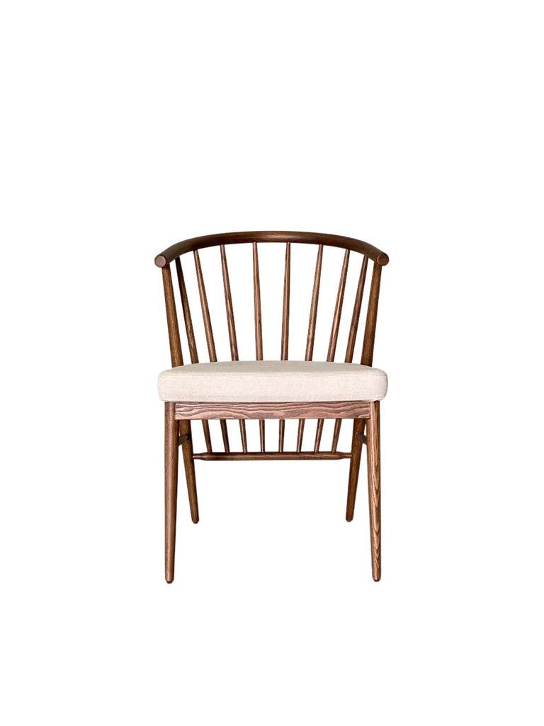 Italian Morelato, Jenny Chair in Ash Wood For Sale