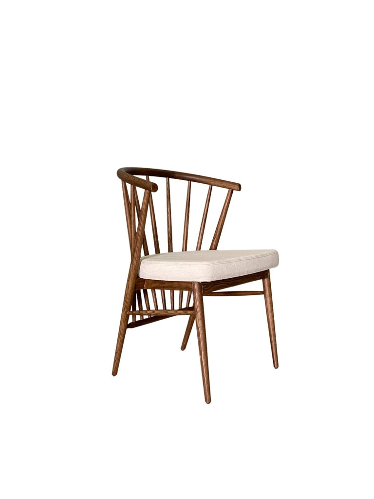 Morelato, Jenny Chair in Ash Wood In New Condition For Sale In Salizzole, IT