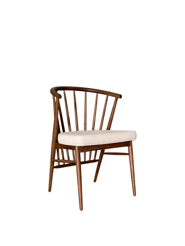 Contemporary Morelato, Jenny Chair in Ash Wood For Sale