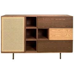 Morelato Swing, Modular Cabinet Made of Ashwood