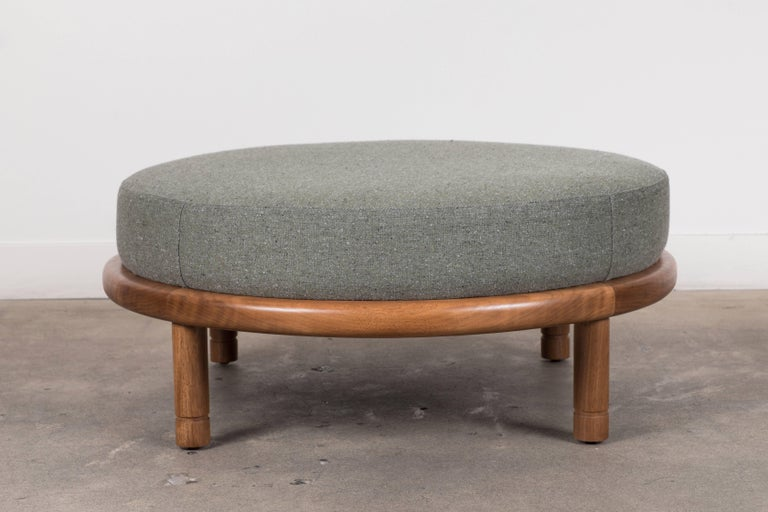 Moreno ottoman by Lawson-Fenning  Available to order in Customer's Own Material with a 6-8 week lead time.