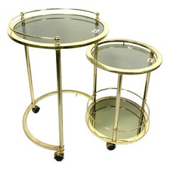 Hollywood Regency Nesting Tables and Stacking Tables