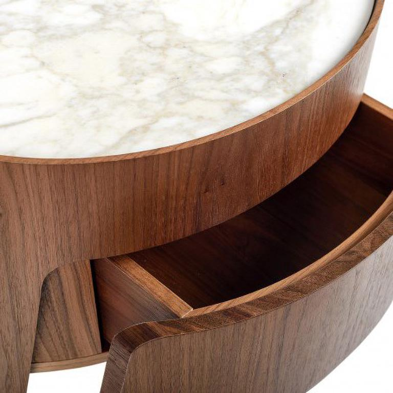 Morfeo night table by Carlo Colombo In New Condition For Sale In New York, NY