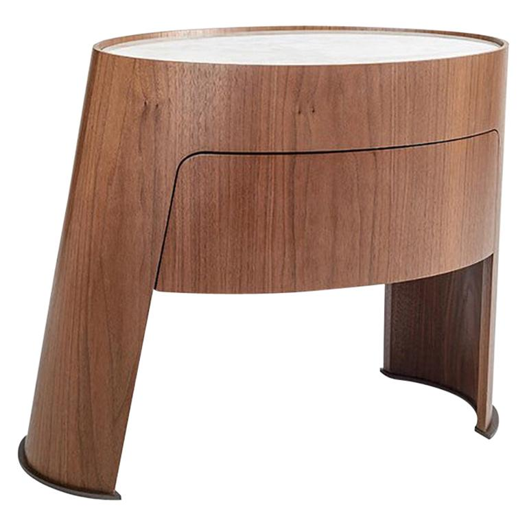 Morfeo night table by Carlo Colombo For Sale