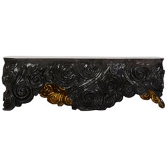 Morgan Bench in Cast Bronze from Elan Atelier