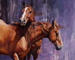 """Bonded Pair"", Oil painting"