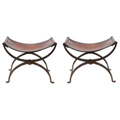 Morgan Colt American Art Deco Folding Stools