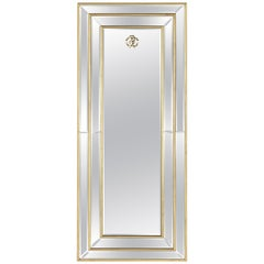 Morgana Stand Natural Mirror by Roberto Cavalli Home Interiors