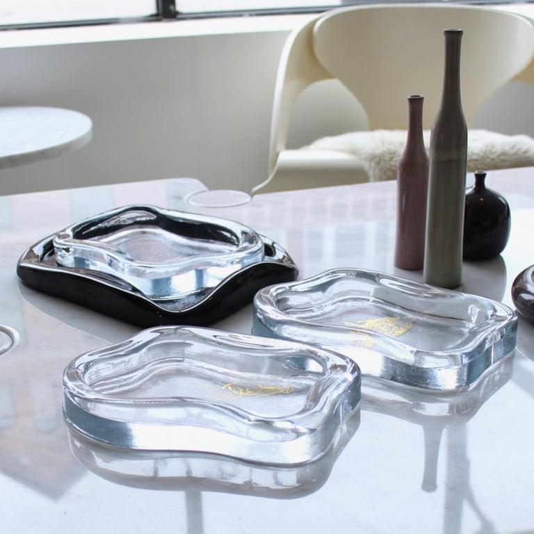 Moribana Dish Vide Poche Yali Glass Murano 2019 designed by Marie-Rose Kahane  For Sale 3