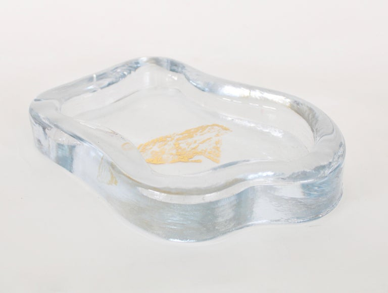 Modern Moribana Dish Vide Poche Yali Glass Murano 2019 designed by Marie-Rose Kahane  For Sale