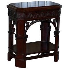 Morison & Co Edinburgh Chippendale circa 1840 Mahogany Revolving Display Stand