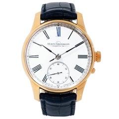 Moritz Grossmann Atum Enamel Rose Gold Watch