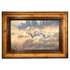 Morning Mist Original Oil Painting by Michael Melander