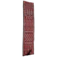 Moroccan African Tuareg Vintage Runner Rug