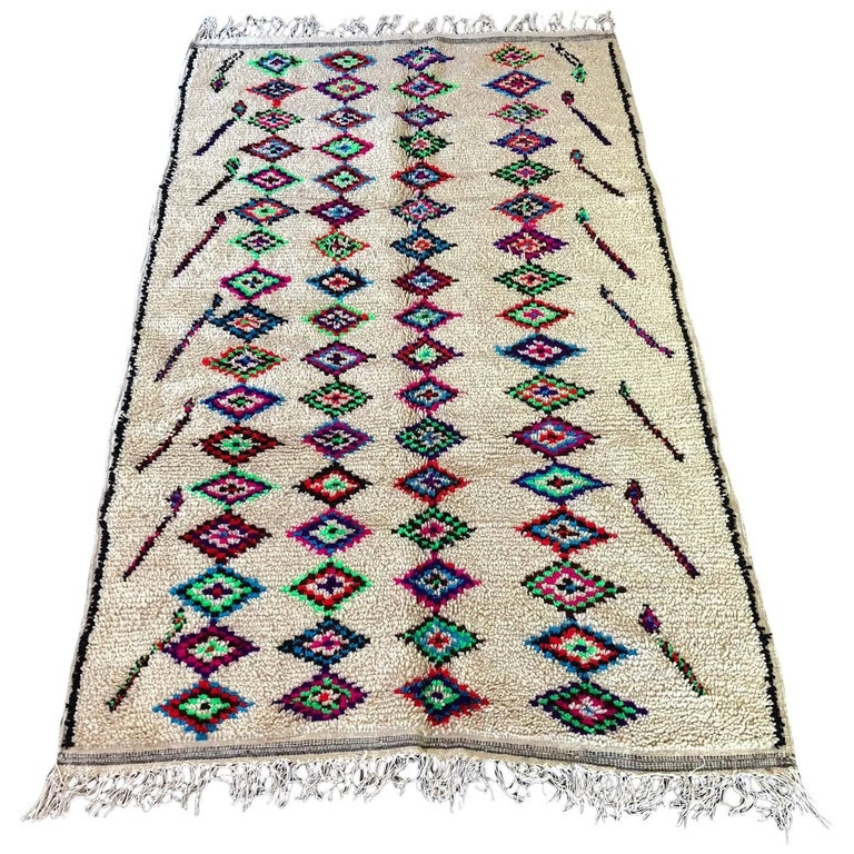 Moroccan Azilal Berber Rug For Sale At 1stdibs