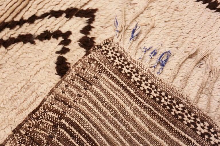 Wool Moroccan Beni Ourain Berber Rug For Sale