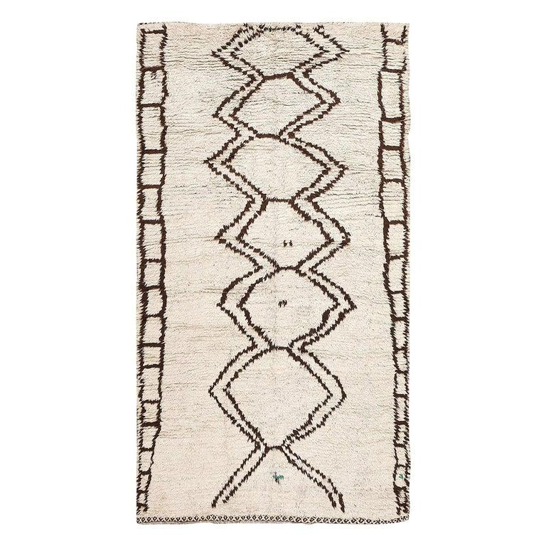 Moroccan Beni Ourain Berber Rug For Sale