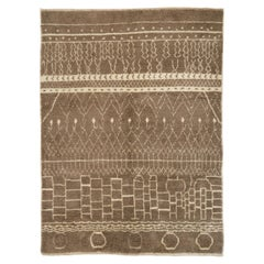Moroccan Beni Ourain Rug, 100% Natural Undyed Wool